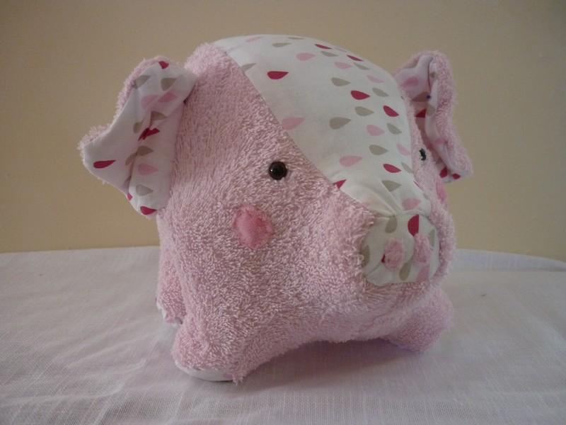Petit cochon rond