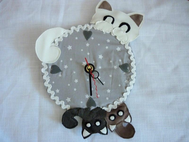 Horloge Chat (2)