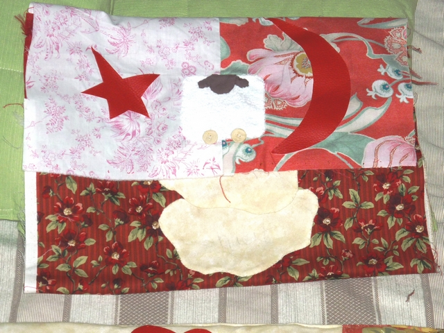 Tete de lit mouton avec housse pyjama