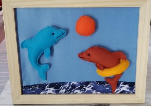 Cadre les dauphins