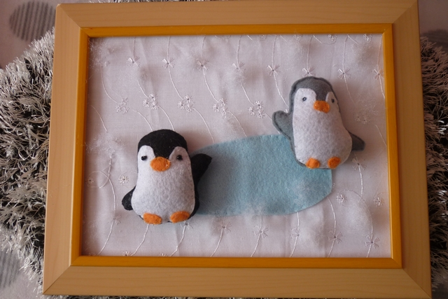 Cadre les petits pingouins