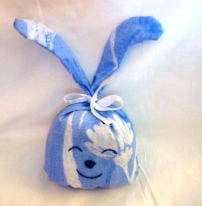 Lapin lavande bleu